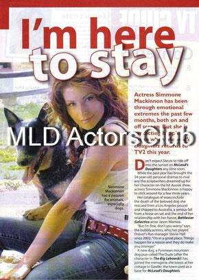 Simmone Jade Mackinnon Meet My Baby Mcleods T 246 Chter