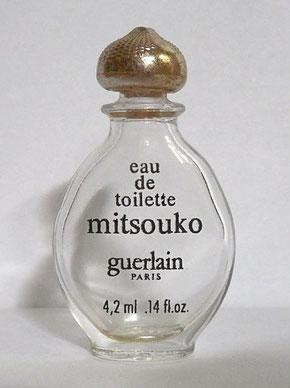 MITSOUKO - FLACON GOUTTE EAU DE TOILETTE 4,2 ML - VARIANTE SUR LA SERIGRAPHIE