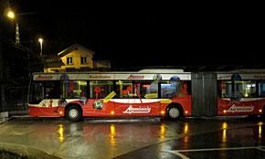 Atzmännig, Bus, Werbefläche