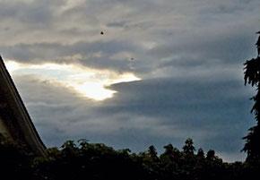 Himmel, Regenwolken, Wetter