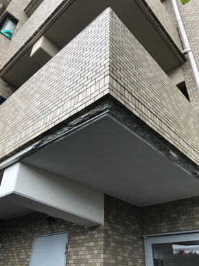 外壁の欠損