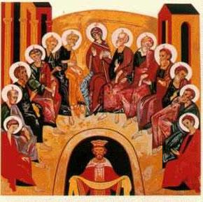 Icona di Pentecoste: la bellezza della vita fraterna
