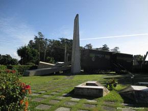 El monumento al Tren blindado