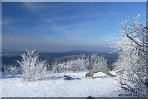 """Mein """"Winterurlaub"""" auf dem Feldberg"""