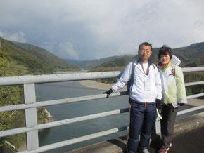 川登大橋からの眺め
