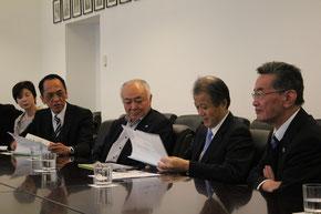 日本大使館を訪問