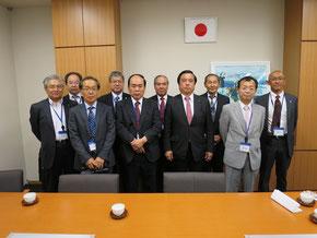 衆議院第二議員会館の福井照代議士を表敬訪問
