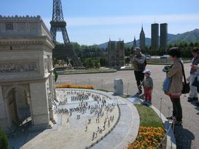 フランスの凱旋門