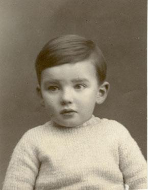 Pierre als Kleinkind