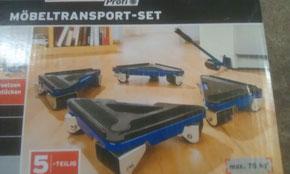Transport von Möbel