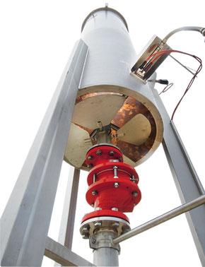 Antorcha biogas - flare biogas - biodigestor - flares biogas