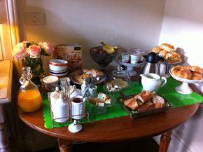 Buffet du petit déjeuner