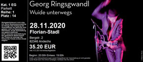 Georg Ringsgwandl , Tickets