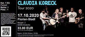 Claudia Koreck Tickets