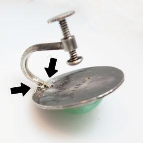 シルバーイヤリング修理