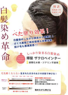 八王子の美容室zip キラガミプルームサロン 白髪染め ザクロペインター