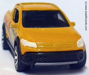 VW Saveiro Cross Frontansicht 1:64