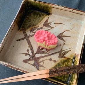「手折り桜」とらや製