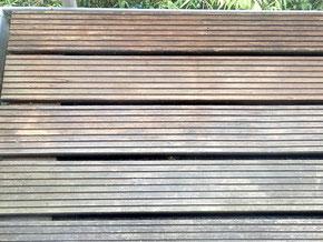 Holzreinigung nachher