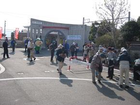 伊那福岡で下車してスタート