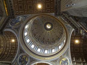 Vatikan: Kuppel von St. Peter