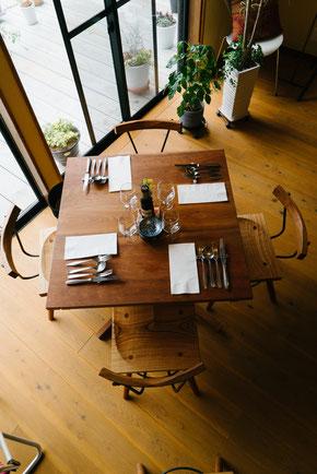 店舗用テーブルセット