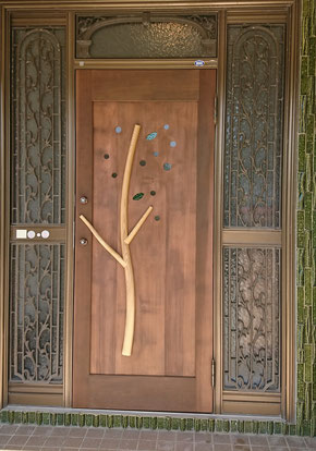木のドア リフォーム