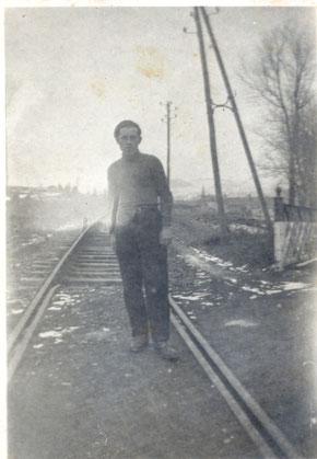 René RIVIERE à Allanche Département du Cantal
