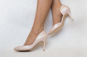 Свадебные туфли пудра розовые удобные Киев Москва