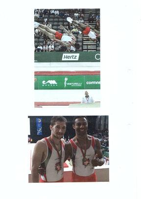 Médaillés de bronze aux Européens