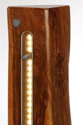 Licht Objek, Design, Leuchte, Lampe, Altholz, Glas, LED-2