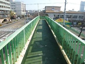 岐阜県 歩道橋