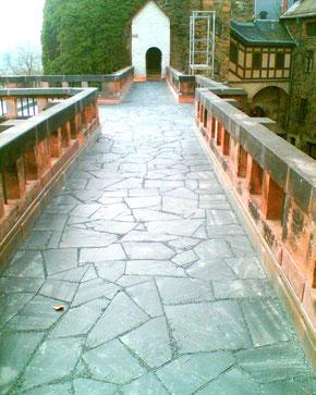 Wehrgang Burg Mylau