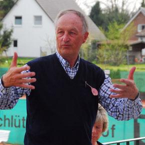 Der Vorstand vom TC Wankendorf. Reimer Rieder war es von 1968 bis 2002