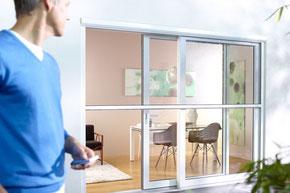 Insektenschutz, Fliegengitter, Dachfenster, Rollo Motor