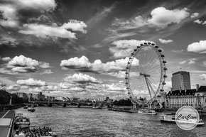 London eye, londres, photo noir et blanc, art, street photography, CarCam