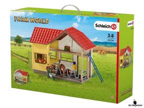 """Bei der Bestellung im Onlineshop der-Wegweiser erhalten Sie das Schleich Paket 42334 """"Scheune mit Tieren und Zubehör""""."""