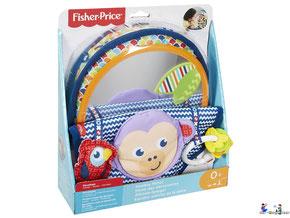 """Bei der Bestellung im Onlineshop der-Wegweiser erhalten Sie das FisherPrice Paket """"Äffchen-Spiegel""""."""
