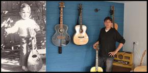 Luthier Saint-Malo Dinard Sacha Stefanovic réparations repair guitare guitar acoustique acoustic electric