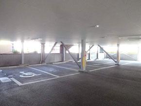 駐車場の一部の写真①