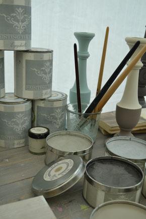 Painting the Past Kreidewachs