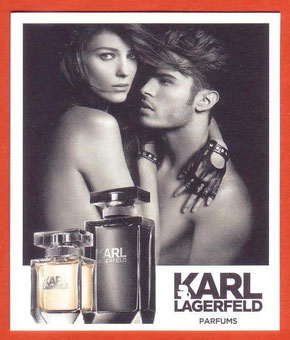 2014 - KARL LAGERFELD PARFUMS : RECTO