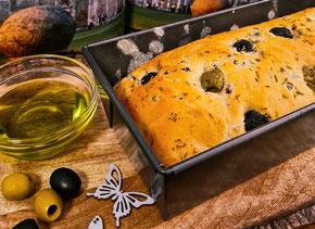 leckeres Rezept für ein Olivenbrot