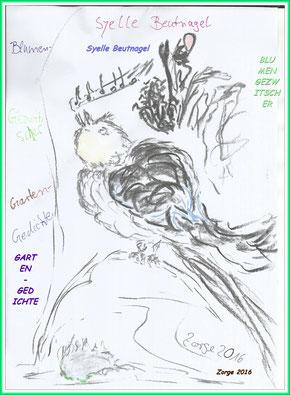 Cover 'Blumengezwitscher ' E-Book von Syelle Beutnagel
