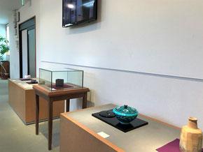 多治見市 本町 オリベストリート 駐車場 織部 美濃焼 陶器 ギャラリー 智結蔵 作家 茶陶展 美濃陶芸協会