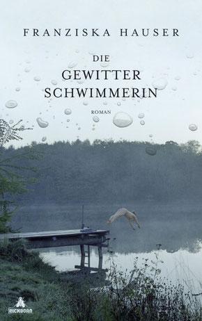 Titelbild des Romans Sommerdreieck von Franziska Hauser