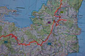 GTE Trekking: Etappe 2