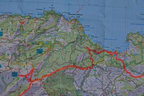 GTE Trekking: Etappe 4