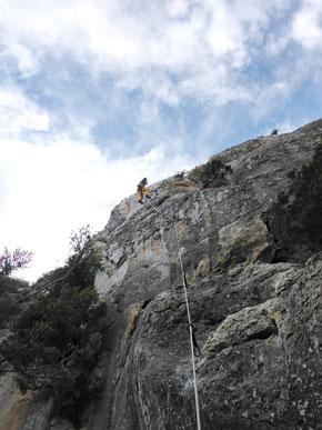 Der erste Kletternachmittag in Buda