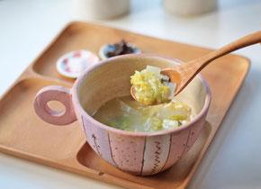 有賀さんの「精進スープ」 Cocciorino スープカップ